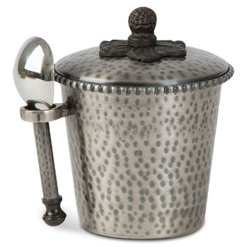 Tggc Ice Cream Bucket Finish: Antique Silver