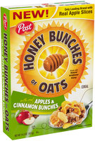 Honey Bunches of Oats with Apples & Cinnamon Bunches