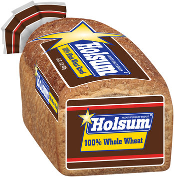 Holsum® 100% Whole Wheat Bread 16 oz. Loaf