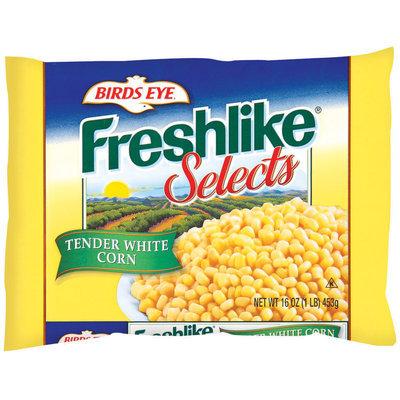 Freshlike Tender White Corn Frozen Vegetables Selects 16 Oz Bag