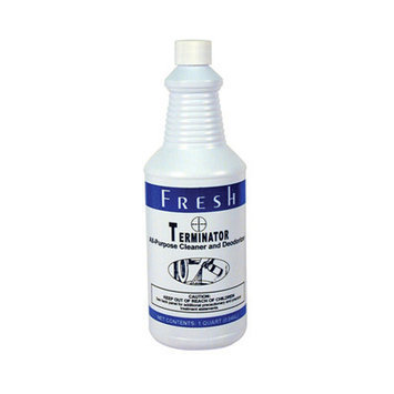 FRESH PRODUCTS 12-32-TN Terminator Deodorizer All-Purpose Cleaner, 32 oz. Bottles, 12/Carton
