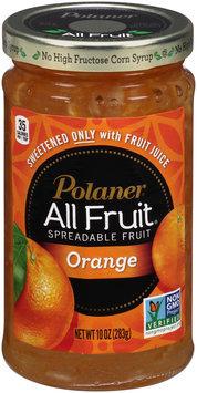 Polaner® All Fruit® Orange Spreadable Fruit 10 oz. Jar