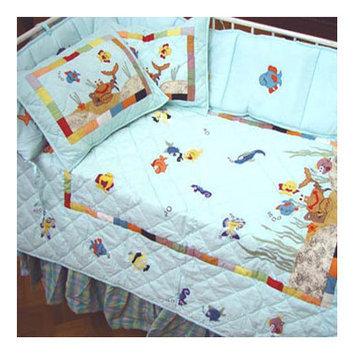 Patch Magic Kids Aquarium 9 Piece Crib Bedding Set