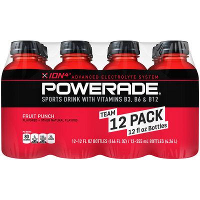 Powerade® ION4® Fruit Punch 12 fl. oz. Bottle