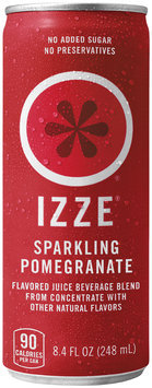 IZZE® Sparkling Pomegranate Juice 8.4 fl. oz. Can