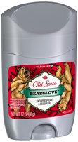 Old Spice Wild Collection Bearglove Invisible Solid Anti-Perspirant/Deodorant 1.7 oz. Stick