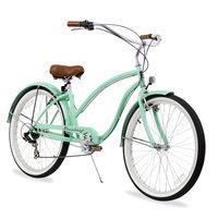 Firmstrong Women's Chief Lady Seven-Speed Beach Cruiser Bike