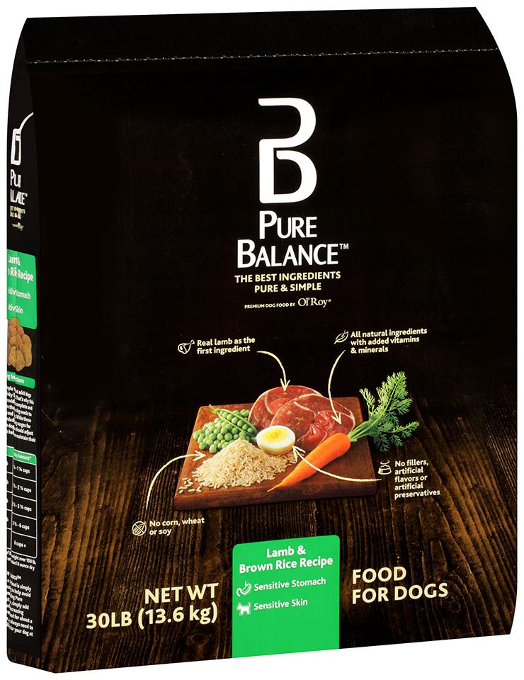 Pure Balance™ Lamb & Brown Rice Recipe Dog Food 30 lb. Bag