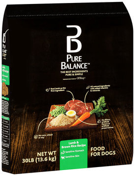Pure Balance™ Lamb & Brown Rice Recipe Dog Food 30 lb. Bag