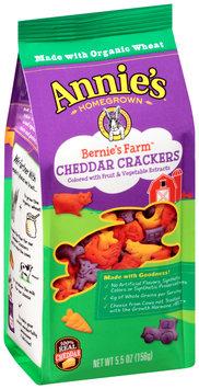 Annie's® Homegrown Bernie's Farm Cheddar Crackers