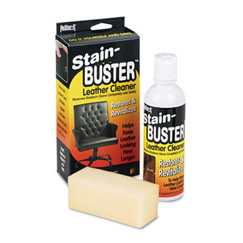 Master Caster Leather Cleaner with Synthetic Sponge, Bottle