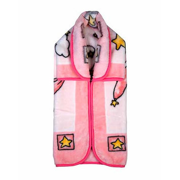 Home Sensation Baby Snuggle Wrap with Zipper Color: Pink