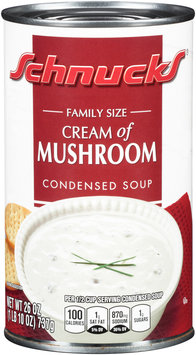 Schnucks® Cream of Mushroom Condensed Soup 26 oz. Can