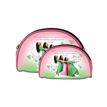 Africanamericanexpressions Three Ladies 2 Piece Cosmetic Bag Set