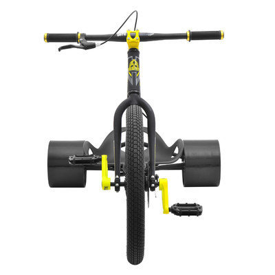 Triad Syndicate 2 Drift Trike Bike Frame Color: Red/Polished