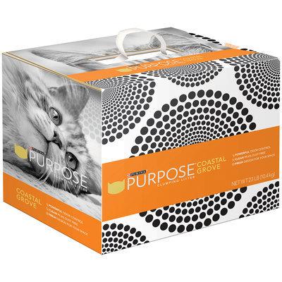 Purina Purpose Coastal Grove Clumping Litter 23 lb. Box