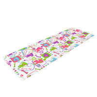 Kess Inhouse My Loving Dogs by Julia Grifol Yoga Mat