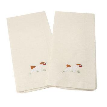 Gerbrend Creations Inc. Jack Russell Dog Guest Linen Towel