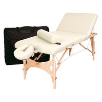 Oakworks Alliance Wood Massage Table (Essential Package) Color: Opal