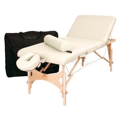 Oakworks Alliance Wood Massage Table (Essential Package) Color: Opal
