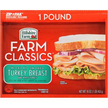 Hillshire Farm® Farm Classics™ Hickory Smoked Turkey Breast and White Turkey