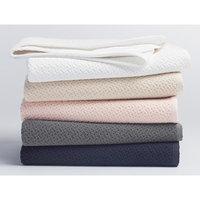 Coyuchi Honeycomb Blanket Baby Color: Ivory