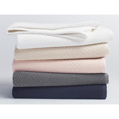 Coyuchi Honeycomb Blanket Baby Color: Ivory