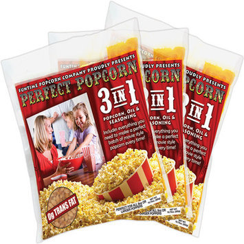 Funtime Popcorn Machines Perfect Popcorn 3-in-1 Popcorn Pouches Size: 8 Ounce