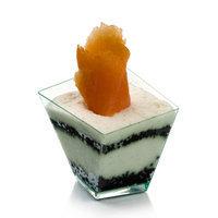 Restaurantware Girata Dessert Dish (100 Count) Color: Seagreen, Size: 5.5 Oz.