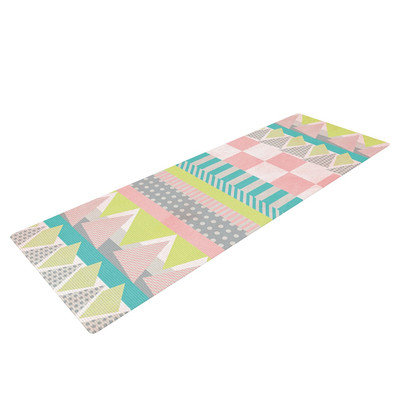 Kess Inhouse Luna by Louise Machado Pastel Yoga Mat