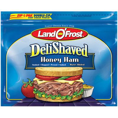 Land O' Frost Deli Shaved Honey Ham 9 oz Zip Pak