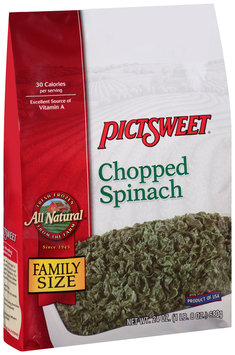 Pictsweet® All Natural Chopped Spinach 24 oz. Bag