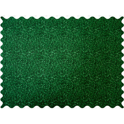 Stwd Petals Fabric by the Yard Color: Hunter Green