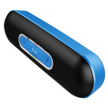 Iluv ROLLICKBU Portable Bluetooth Speaker Blue