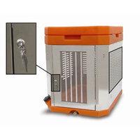 High Country Plastics K9 Portable Dog Kennel Color: Orange
