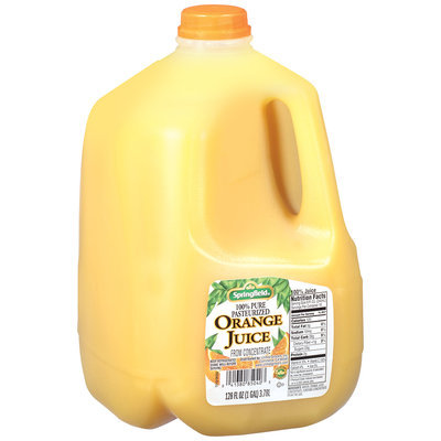 Springfield® 100% Orange Juice from Concentrate 1 Gal Jug