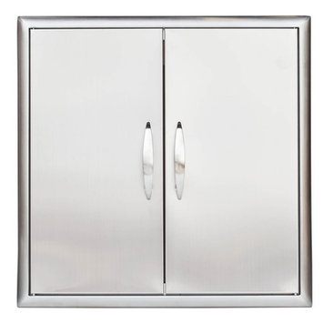 Barbeques Galore Stainless Steel Double Access Door