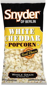 Snyder® of Berlin Popcorn White Cheddar 6.5 oz BAG