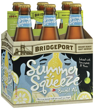 Bridgeport Seasonals Cafe Negro/Summer Squeeze/Ebenezer 12 Oz Beer 6 Pk Glass Bottles