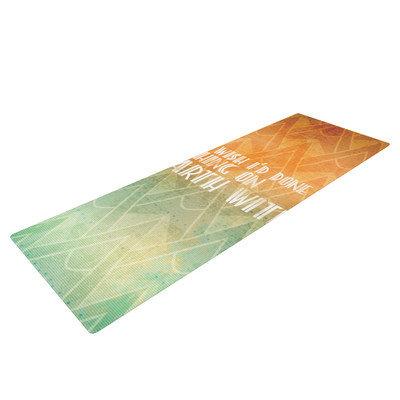Kess Inhouse Deco II Yoga Mat
