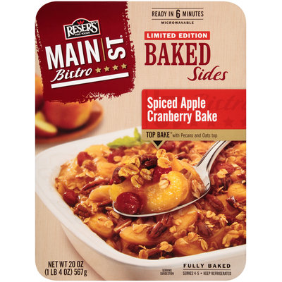 Reser's Fine Foods® Main St Bistro® Spiced Apple Cranberry Bake 20 oz Tray