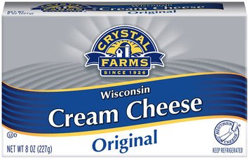 Crystal Farms® Original Wisconsin Cream Cheese 8 oz. Box