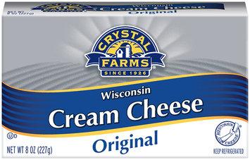 Crystal Farms® Original Wisconsin Cream Cheese 8 oz. Box