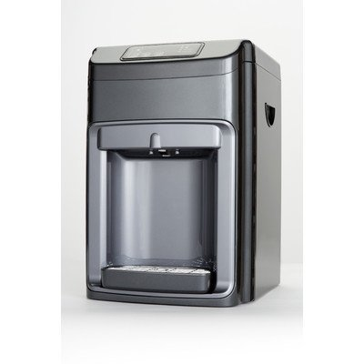 Global Water Countertop 3-Stage Ultra Filtration Hot and Cold and Ambient Bottle-less Water Cooler with UV Light
