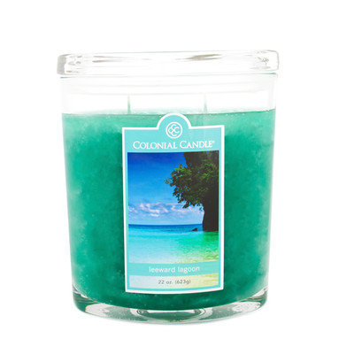 Colonial Candle Leeward Lagoon Jar Candle (Set of 2) Size: 22 Oz.