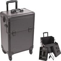 Just Case Usa Inc. Sunrise E6301PPAB All Black 4-Wheels Case