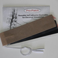 Promed Specialties Strip Electrode Tan Cloth One Electrode With Two Lead Attachments (Set of 5)