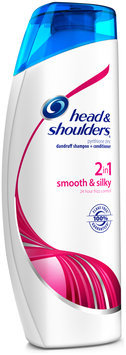 Smooth & Silky Head and Shoulders Smooth & Silky 2-in-1 Dandruff Shampoo + Conditioner 33.8 Fl Oz