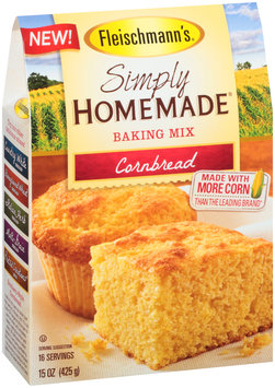 Fleischmann's® Simply Homemade® Cornbread Baking Mix 15 oz. Box