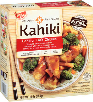 Kahiki® General Tso's Chicken Frozen Entree 10 oz. Box